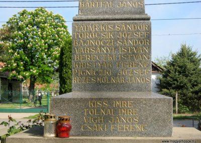 Székkutas II. világháborús emlékmű 2015.05.01. küldő-Emese (14)
