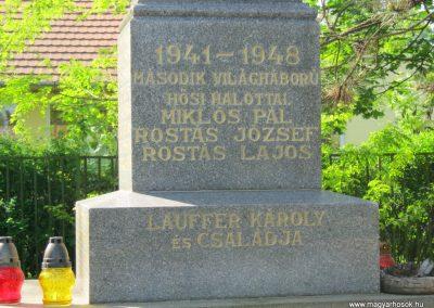 Székkutas II. világháborús emlékmű 2015.05.01. küldő-Emese (4)