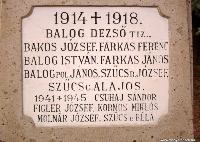 Szúcs világháborús emlékmű 2011.09.09. küldő-kalyhas (5)