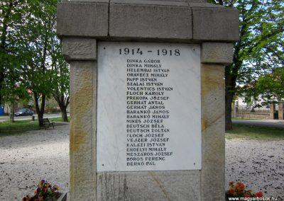 Sződ I.vh emlékmű 2012.04.20. küldő-kalyhas (8)
