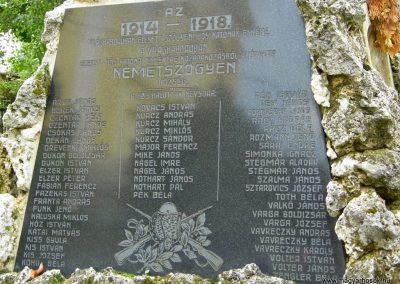 Szőgyén I. világháborús emlékmű 2014.09.15. küldő-Méri (6)