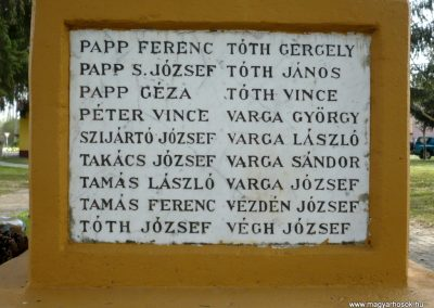 Szőkedencs I.vh emlékmű 2012.04.05. küldő-Sümec (7)