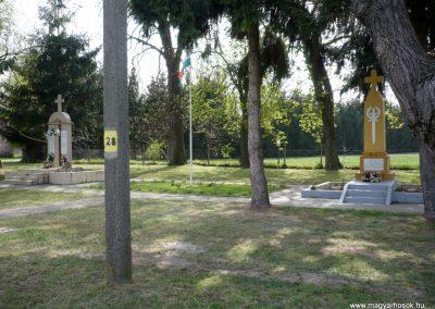 Szőkedencs világháborús emlékművek 2012.04.05. küldő-Sümec