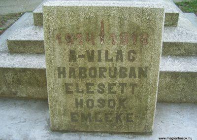 Szabadszentkirály I.vh emlékmű 2009.05.25.küldő-Horváth Zsolt (2)