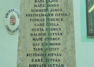 Szabadszentkirály I.vh emlékmű 2009.05.25.küldő-Horváth Zsolt (3)