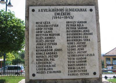 Szada világháborús emlékmű 2007.06.11. küldő-Kályhás (9)
