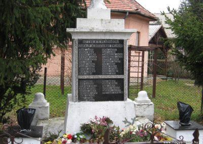 Szakáld világháborús emlékmű 2007.11.20. küldő-kalyhas (2)