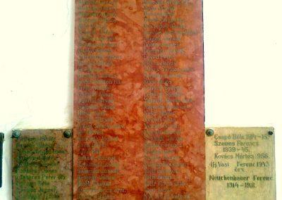 Szakály világháborús emléktábla 2011.06.15. küldő-Csiszár Lehel