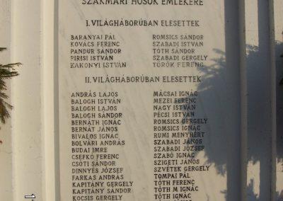 Szakmár világháborús emlékmű 2006.11.08. küldő-Markó Péter (1)