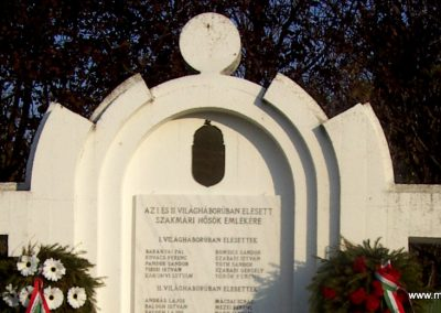 Szakmár világháborús emlékmű 2006.11.08. küldő-Markó Péter (3)