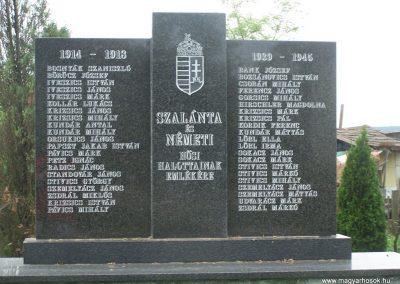 Szalánta világháborús emlékmű 2009.05.24.küldő-Horváth Zsolt (2)