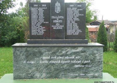 Szalánta világháborús emlékmű 2009.05.24.küldő-Horváth Zsolt (4)