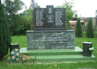 Szalánta világháborús emlékmű 2009.05.24.küldő-Horváth Zsolt