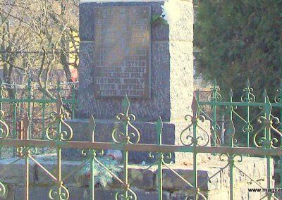 Szanda világháborús emlékmű emlékmű 2008.02.12. küldő-Pfaff László, Rétság (3)