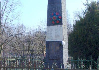 Szanda világháborús emlékmű emlékmű 2008.02.12. küldő-Pfaff László, Rétság (4)