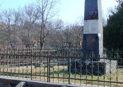Szanda világháborús emlékmű emlékmű 2008.02.12. küldő-Pfaff László, Rétság