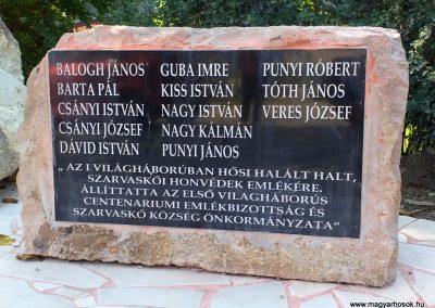 Szarvaskő I. világháborús emlékmű 2019.08.11. küldő-Bóta Sándor (5)