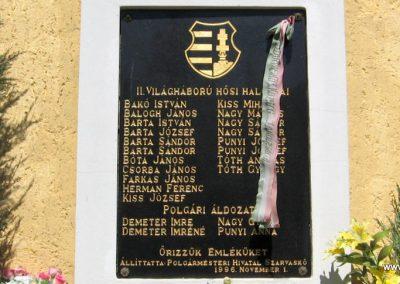 Szarvaskő II.vh emlékmű 2009.04.25. küldő-kalyhas (2)