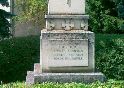 Szedres I. világháborús emlékmű 2010.07.07. küldő-Csiszár Lehel (2)