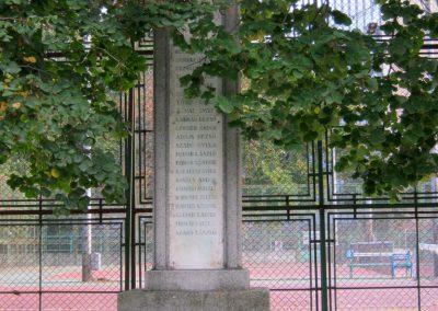 Szeged-Újszeged, I. világháborús emlékmű a Szegedi Atlétikai Klub sportolóinak emlékére 2014.10.05. küldő-Emese (5)