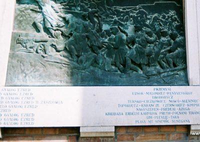 Szeged 5. honvéd gyalogezred I. világháborús emléktáblája 2015.06.19. küldő-Emese (4)