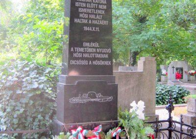 Szeged Alsóvárosi temető II. világháborús síremlék 2015.06.28. küldő-Emese (1)
