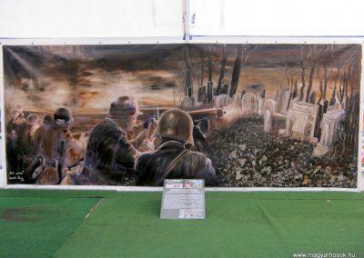 Szeged Az I. világháború kegyeleti és hadi kiállítása Belvárosi temető 2014. 10.27. - 11.02. küldő-Emese (26)