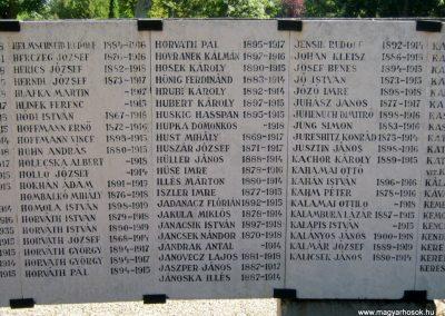 Szeged Belvárosi temető I. világháborús emlékmű 2014.08.17. küldő-Emese (10)