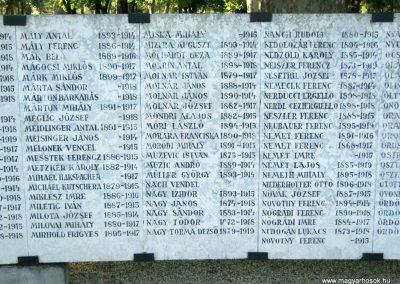 Szeged Belvárosi temető I. világháborús emlékmű 2014.08.17. küldő-Emese (16)