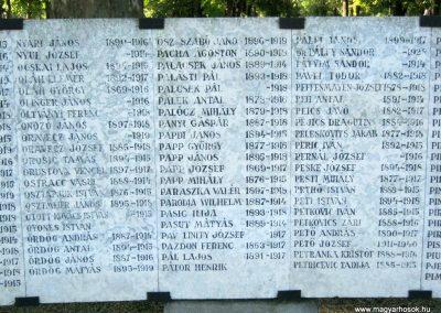 Szeged Belvárosi temető I. világháborús emlékmű 2014.08.17. küldő-Emese (17)