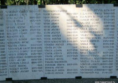 Szeged Belvárosi temető I. világháborús emlékmű 2014.08.17. küldő-Emese (21)