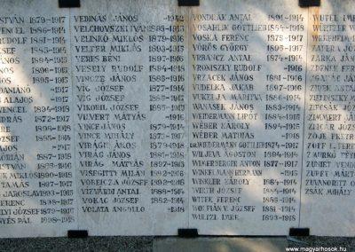 Szeged Belvárosi temető I. világháborús emlékmű 2014.08.17. küldő-Emese (22)