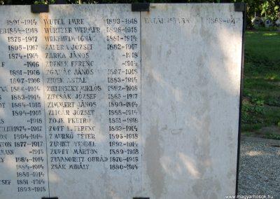 Szeged Belvárosi temető I. világháborús emlékmű 2014.08.17. küldő-Emese (23)