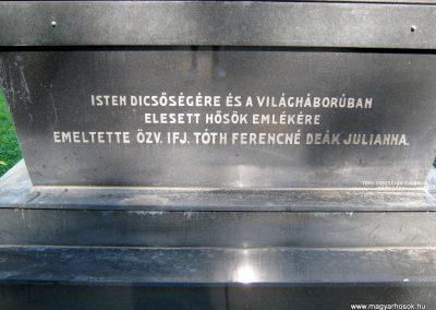 Szeged Belvárosi temető I. világháborús emlékmű 2014.08.17. küldő-Emese (3)