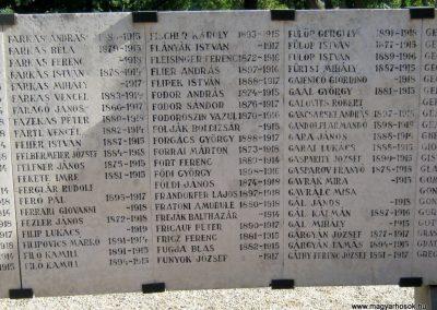 Szeged Belvárosi temető I. világháborús emlékmű 2014.08.17. küldő-Emese (8)