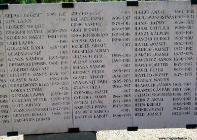 Szeged Belvárosi temető I. világháborús emlékmű 2014.08.17. küldő-Emese (9)