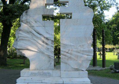 Szeged Belvárosi temető II. világháborús emlékmű, emléktáblák és sírok 2014.08.17. küldő-Emese (1)