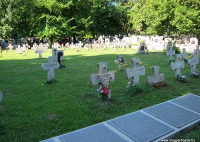 Szeged Belvárosi temető II. világháborús emlékmű, emléktáblák és sírok 2014.08.17. küldő-Emese (12)