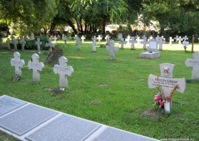 Szeged Belvárosi temető II. világháborús emlékmű, emléktáblák és sírok 2014.08.17. küldő-Emese (13)