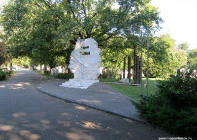 Szeged Belvárosi temető II. világháborús emlékmű, emléktáblák és sírok 2014.08.17. küldő-Emese