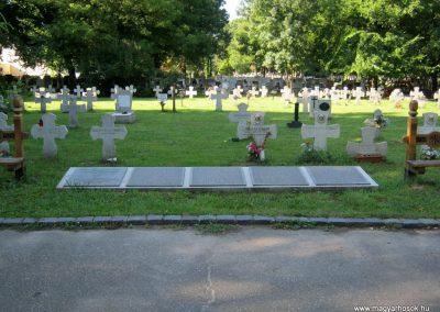 Szeged Belvárosi temető II. világháborús emlékmű, emléktáblák és sírok 2014.08.17. küldő-Emese (5)