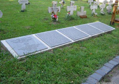 Szeged Belvárosi temető II. világháborús emlékmű, emléktáblák és sírok 2014.08.17. küldő-Emese (6)