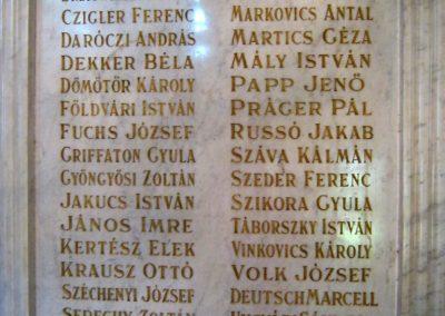 Szeged Déri Miksa Szakközépiskola I. világháborús emlékmű 2016.04.12. küldő-Emese (5)