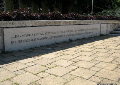 Szeged Doni hősök emlékműve 2014.08.16. küldő-Emese (1)