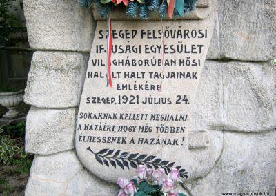 Szeged Dugonics temető I. világháborús emlékmű 2014.08.02. küldő-Emese (3)