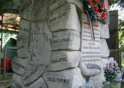 Szeged Dugonics temető I. világháborús emlékmű 2014.08.02. küldő-Emese (5)