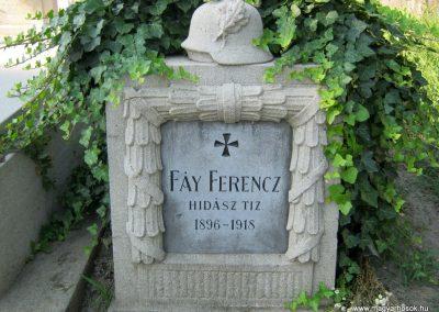 Szeged Dugonics temető I. világháborús sír 2012.06.25. küldő-Emese
