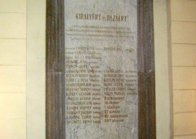 Szeged Huszár u. 1. Okmányiroda I. világháborús emléktábla 2018.06.22. küldő-Emese (4)