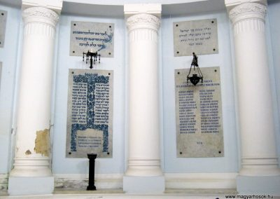 Szeged Izraelita temető ravatalozója. I. világháborús emléktábla 2017.04.09. küldő-Emese (1)