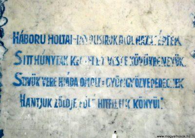 Szeged Izraelita temető ravatalozója. I. világháborús emléktábla 2017.04.09. küldő-Emese (3)